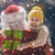 girl hugging santa stock photo © choreograph