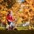 девушки · ходьбе · осень · парка · Cute · мало - Сток-фото © choreograph