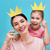mom and child are holding crown stock photo © choreograph