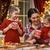 mutlu · aile · Noel · zaman · mutfak · zencefilli · çörek · ev - stok fotoğraf © choreograph