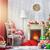 Рождества · украшение · дома · домой · стекла · окна - Сток-фото © choreograph