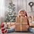 kızlar · sunmak · neşeli · Noel · mutlu · tatil - stok fotoğraf © choreograph