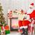 肖像 · サンタクロース · 座って · ルーム · ホーム · クリスマスツリー - ストックフォト © choreograph