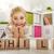 girl playing with blocks stock photo © choreograph
