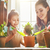 mamãe · filha · comprometido · jardinagem · bonitinho · criança - foto stock © choreograph