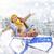 女の子 · 少女 · 子 · 雪 · 子供 · 人 - ストックフォト © choreograph