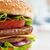おいしい · ハンバーガー · 新鮮な · レタス · トマト · 孤立した - ストックフォト © choreograph
