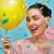 jasne · dziewczyna · różowy · włosy · lizak - zdjęcia stock © choreograph