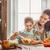 família · feliz · cozinha · alimentação · saudável · casa · mãe · criança - foto stock © choreograph