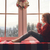girl sitting by window stock photo © choreograph