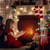 boldog · gyermek · lány · ajándék · doboz · plüssmaci · ünnepek - stock fotó © choreograph