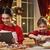 famille · cuisson · Noël · cookies · joyeux · heureux - photo stock © choreograph