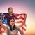 patriotic holiday and happy family stock photo © choreograph