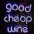 buena · barato · vino · blanco · lectura - foto stock © chrisbradshaw