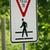 elsőbbségadás · kötelező · gyalogos · fém · felirat · autópálya · piros - stock fotó © chrisbradshaw