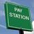 illetmény · állomás · zöld · felirat · háttér · izolált - stock fotó © chrisbradshaw