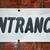 bejárat · felirat · fehér · piros · téglafal · üzlet - stock fotó © chrisbradshaw