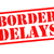 border delays rubber stamp stock photo © chrisdorney