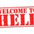 welkom · hel · kwaad · duivel · ramp · teken - stockfoto © chrisdorney