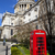 st pauls cathedral and red telephone box in london stock photo © chrisdorney