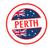 Ausztrália · útlevél · bélyeg · izolált · fehér · üzlet - stock fotó © chrisdorney