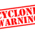 cyclone warning rubber stamp stock photo © chrisdorney