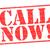 chamar · agora · vermelho · branco · telefone - foto stock © chrisdorney