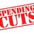 дефицит · сокращение · красный · белый · деньги - Сток-фото © chrisdorney