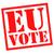 votar · botão · patriótico · branco · azul · estrela - foto stock © chrisdorney