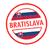 Eslováquia · vermelho · isolado · branco - foto stock © chrisdorney