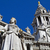 queen anne statue infront of st pauls cathedral stock photo © chrisdorney