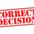döntés · piros · pecsét · fehér · jövő · menedzser - stock fotó © chrisdorney