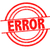 error rubber stamp stock photo © chrisdorney