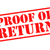 proof of return stock photo © chrisdorney