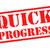 quick progress rubber stamp stock photo © chrisdorney