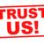 bizalom · engem · piros · pecsét · fehér · biztonság - stock fotó © chrisdorney