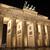 Puerta · de · Brandenburgo · panorama · Berlín · Alemania · manana · pared - foto stock © chrisdorney
