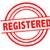 registered rubber stamp stock photo © chrisdorney