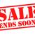 sale ends soon stock photo © chrisdorney