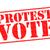 adesivo · votar · político · política · eleição - foto stock © chrisdorney