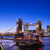 dusk time view of tower bridge in london stock photo © chrisdorney