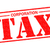 érték · adó · piros · pecsét · fehér · pénz - stock fotó © chrisdorney