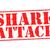 サメ · 攻撃 · 白 · スイマー · 3dのレンダリング - ストックフォト © chrisdorney