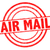 ar · e-mail · vermelho · branco · serviço - foto stock © chrisdorney