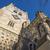 waltham abbey church and king harold statue stock photo © chrisdorney