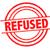 refused rubber stamp stock photo © chrisdorney