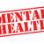 salud · mental · alerta · ilustración · rojo · blanco - foto stock © chrisdorney