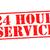 24 hour service stock photo © chrisdorney