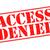 access denied stock photo © chrisdorney