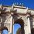 Триумфальная · арка · ночь · квадратный · Париж · Франция · путешествия - Сток-фото © chrisdorney
